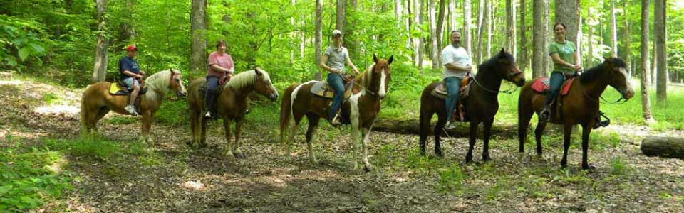 River Expedition Horseback Riding